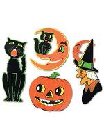 """Pkgd Halloween Cutouts 14""""-23"""""""