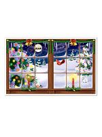 "Snowy Christmas Insta-View 3' 2"" x 5' 2"""