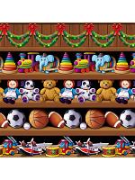 Santa's Workshop Backdrop 4' x 30'