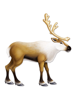 Jointed Reindeer 3' 1""