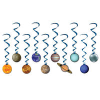 Solar System Whirls Decoration