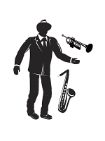 Jointed Jazz Musician