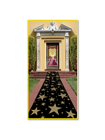 Gold Star Carpet Runner