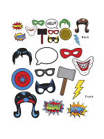 Super Hero Photo Fun Signs