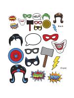 Super Hero Photo Fun Signs