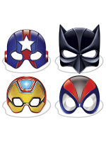 Deluxe Super Hero Masks