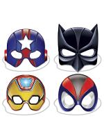 Deluxe Super Hero Masks