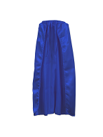 Fabric Blue Cape 30""