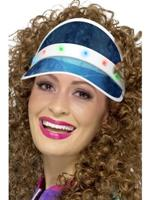 Flashing Visor Hat - Blue