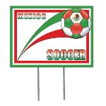 Mexico Soccer Garden Sign