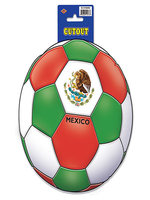 Mexico Football Cutout