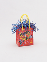 Balloon Weight Mini Handbag Happy Birthday