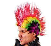 Mohican Wig - Bright Colours