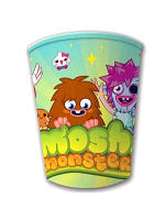 Moshi Monsters Party Paper Cups 260ml