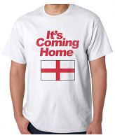 It's Coming Home - White T shirt