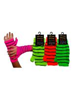 Neon Wrist Warmer Gloves