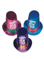 New Year Foil Top Hat - 10