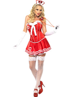 Nurse Costume with Corset