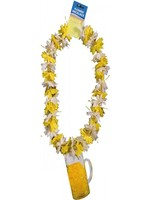 Oktoberfest Tinsel Lei with Beer Tag