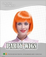 Bob Wig - Neon Orange