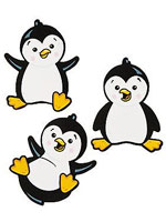 Happy Penguin Cutouts