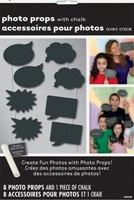 Photo Booth Props with Chalk