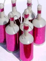Holographic Pink Party Poppers - 20