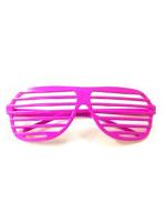 Shutter Glasses - Neon Pink