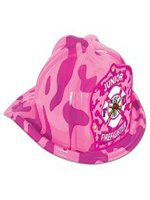 Pink Medium Fire Fighter Hat