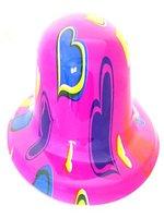 Pink Heart Bowler Hat