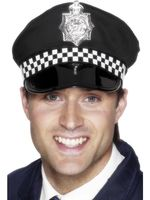 Policeman's Panda Cap