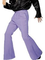 Flares Purple Trousers 12345