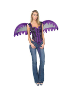 Purple Bodice With Wings