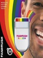 Fanbrush Rainbow Make-Up