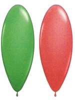 "Balloons Standard 12"" Red And Green"
