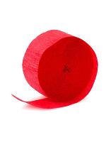 Crepe Streamer -  Red