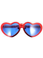 Jumbo Heart Shaped Metallic Glasses