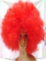 Mother of all Afro Wig - Red
