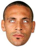 Rio Ferdinand Face Mask.