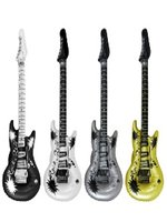 Inflatable Guitar - Assorted Metallic Colours