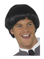 Swinging 60'S Bowl Wig - Black