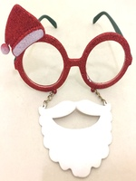 Santa Glasses with Attached Beard