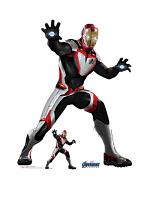 Iron Man (Quantum Suit) Star Mini Marvel Avengers Endgame