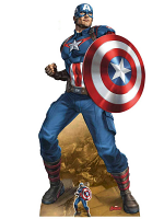 Captain America Earth's Mightiest Hero Defence and Offence