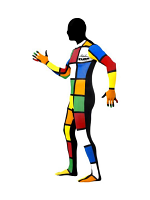 Second Skin Suit - Rubik Cube