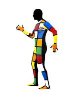 Second Skin Suit - Rubik Cube