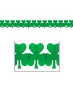 Irish Garland Green Shamrock