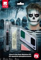 Glow in the Dark Skeleton Make-Up Kit