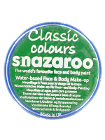 Snazaroo Face And Body Paint - Bright Green - Water Based 18ml