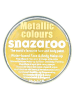 Snazaroo Face And Body Paint - Metallic Gold - Water Based 18ml